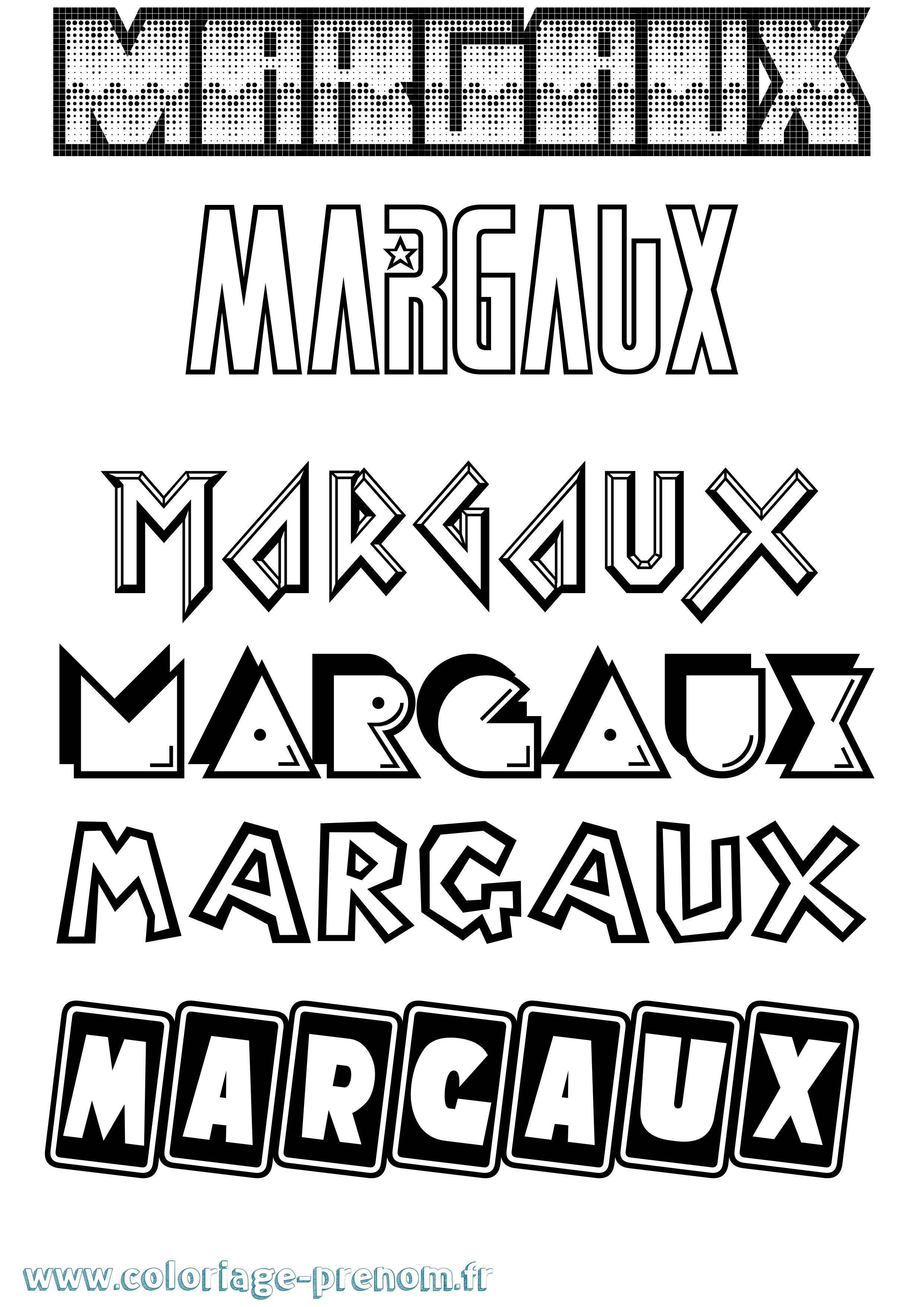 époustouflant Coloriage du prénom Margaux : à Imprimer ou Télécharger facilement &PP_17