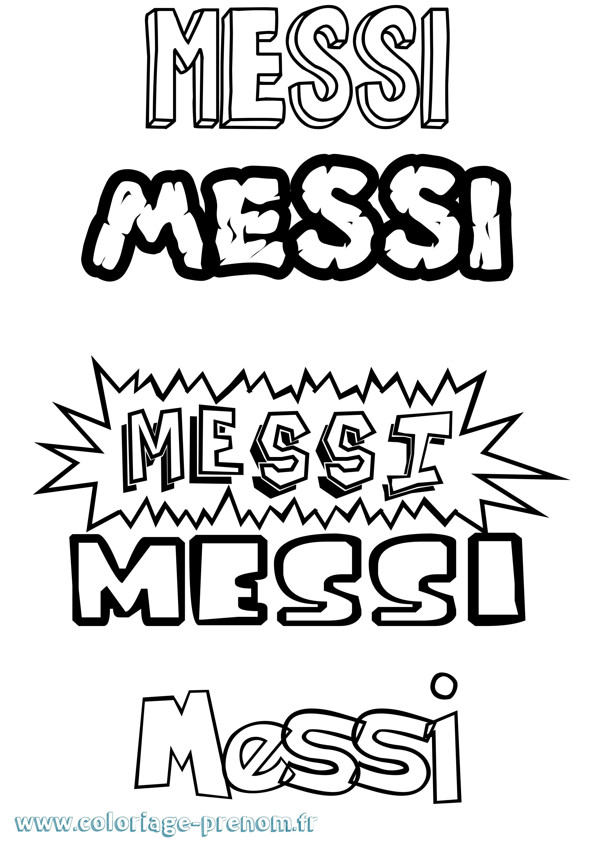 Meilleur de dessin a colorier lionel messi - Coloriage lionel messi ...