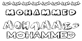 Coloriage Mohammed