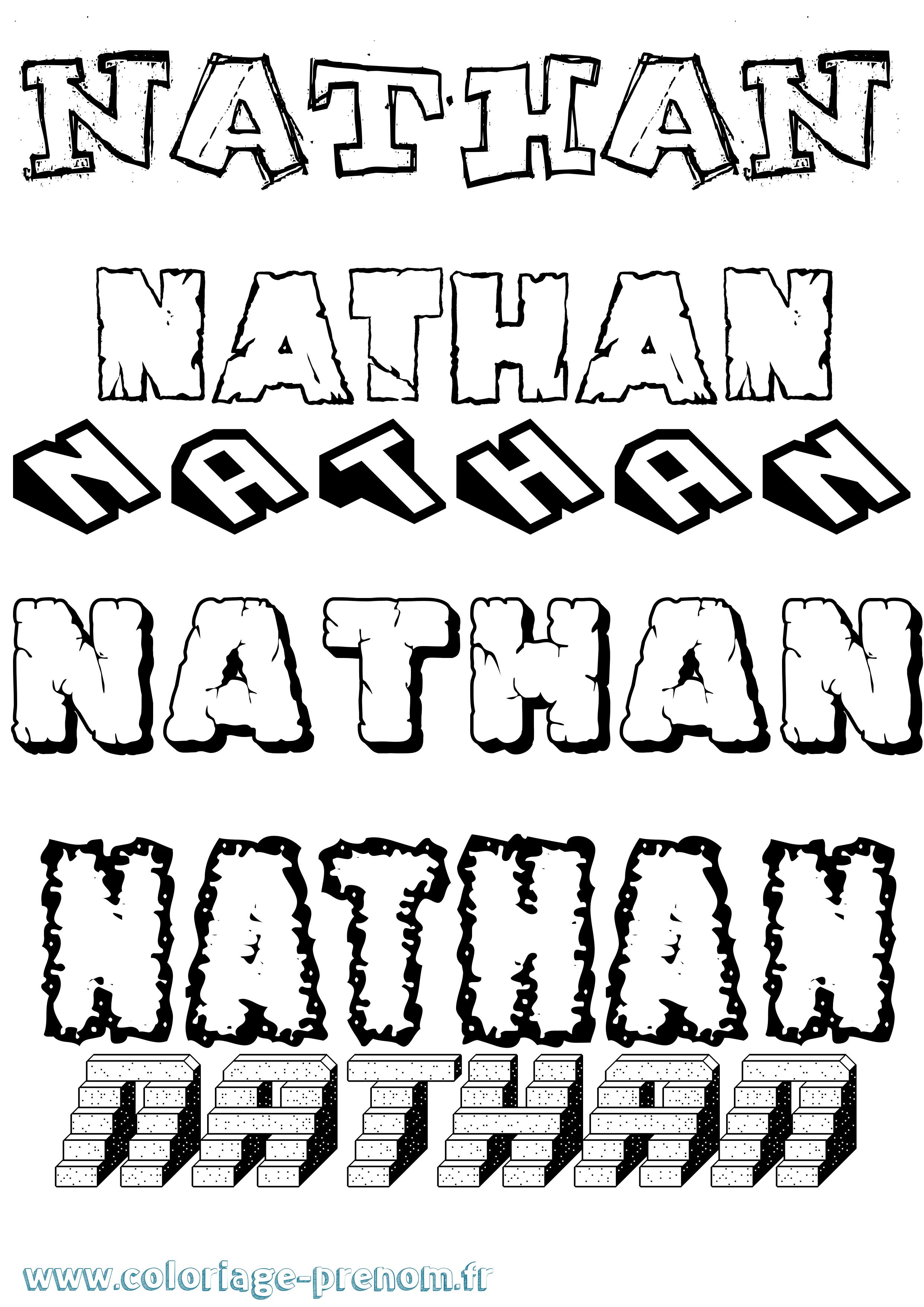 Nathan coloriage - Coloriage nathan ...
