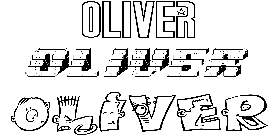 Coloriage Oliver