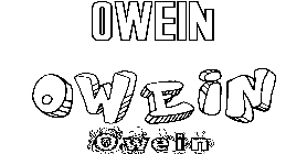 Coloriage Owein
