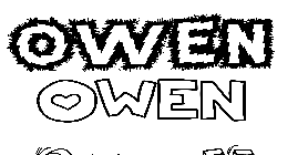 Coloriage Owen