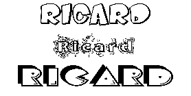 Coloriage Ricard