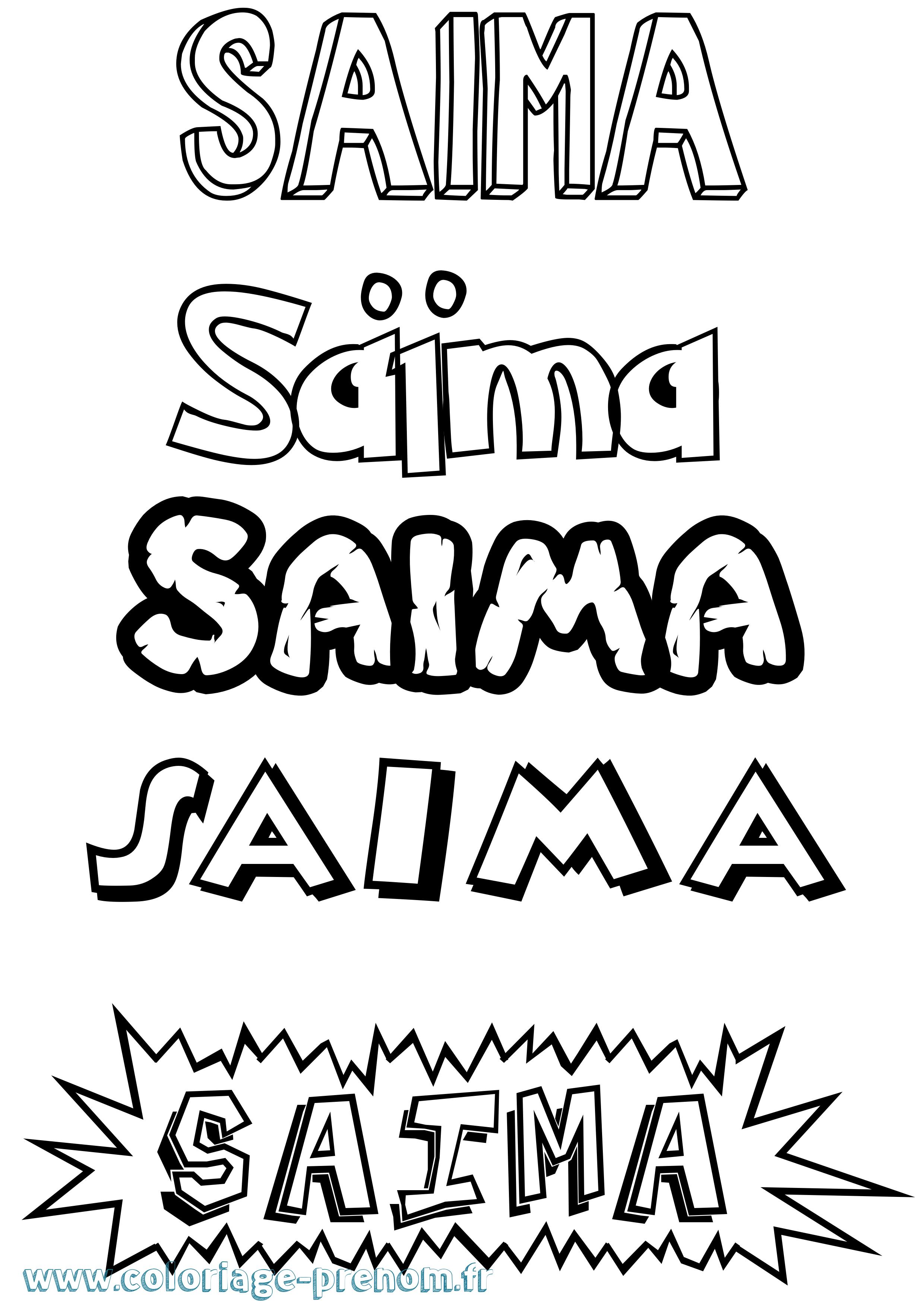 coloriage du pr nom sa ma imprimer ou t l charger facilement Sai Maa Lakshmi Devi coloriage dessin anim