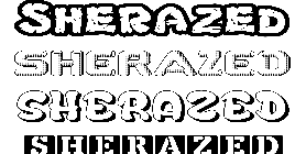 Coloriage Sherazed