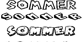 Coloriage Sommer
