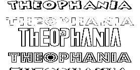 Coloriage Theophania