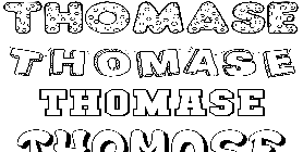 Coloriage Thomase