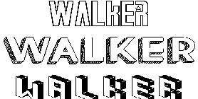 Coloriage Walker
