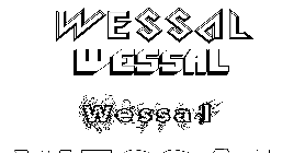 Coloriage Wessal
