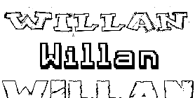 Coloriage Willan