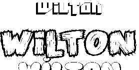 Coloriage Wilton