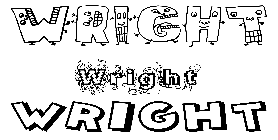 Coloriage Wright