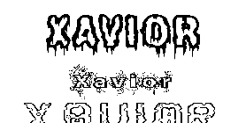 Coloriage Xavior