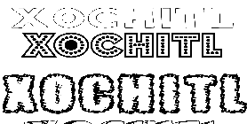 Coloriage Xochitl