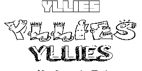 Coloriage Yllies